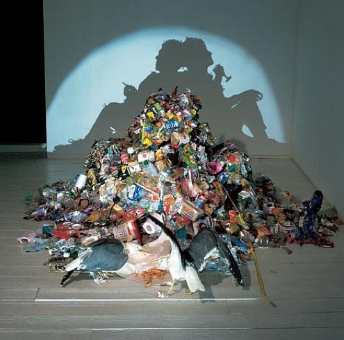 Garbage art