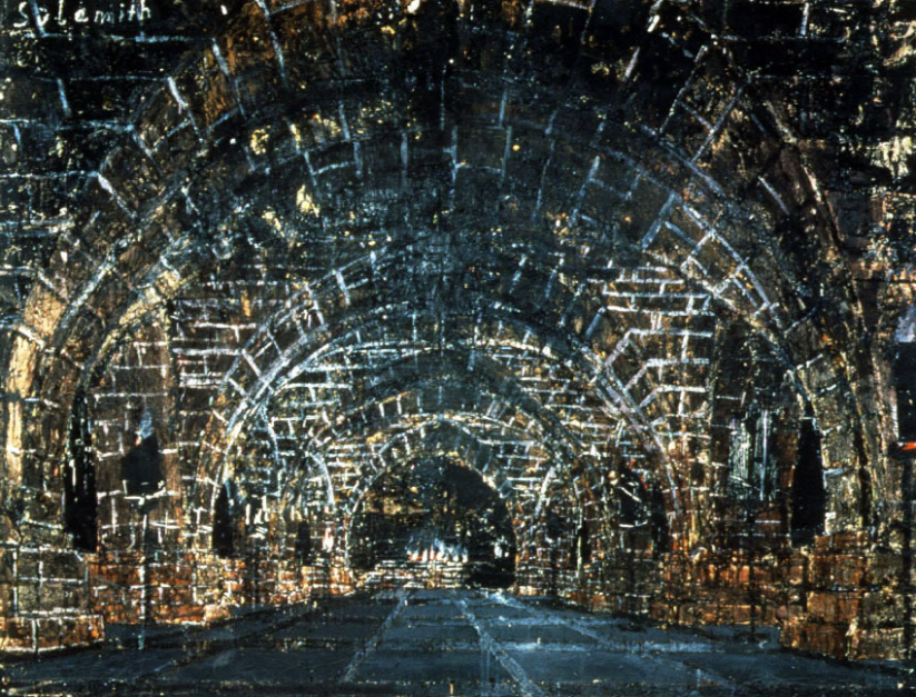 Sulamith 1983 by Anselm Kiefer